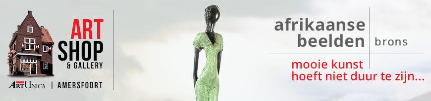 Afrikaanse bronzen beelden