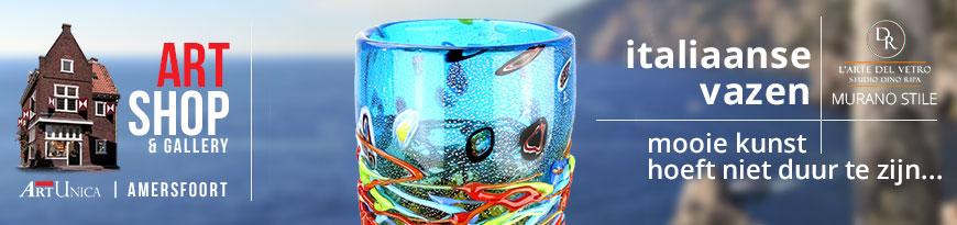Glaskunst vazen
