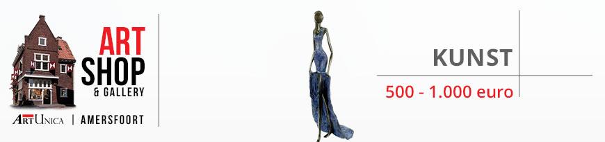 Kunst van 500 - 1000 euro