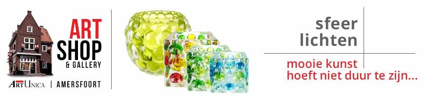 Glaskunst sfeerlichten