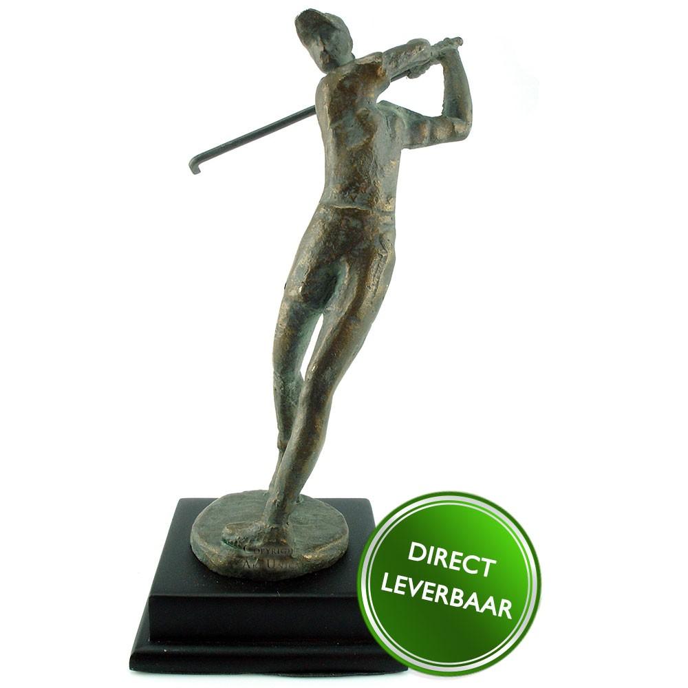 Golfster brons Art Unica
