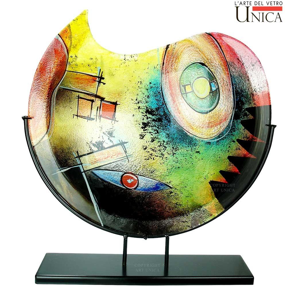 glazen vaas op standaard glaskunst vazen artunica glaskunst On glaskunst vazen