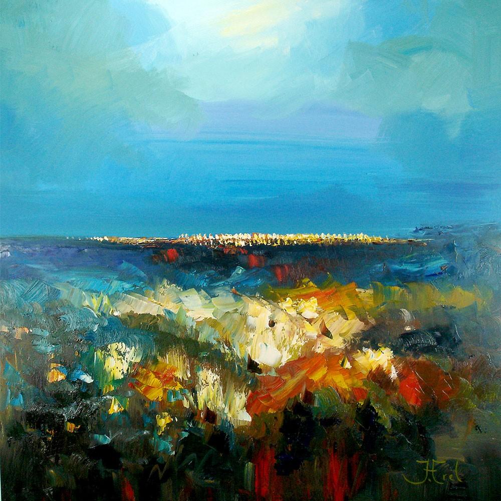 Abstract Schilderij John Frel