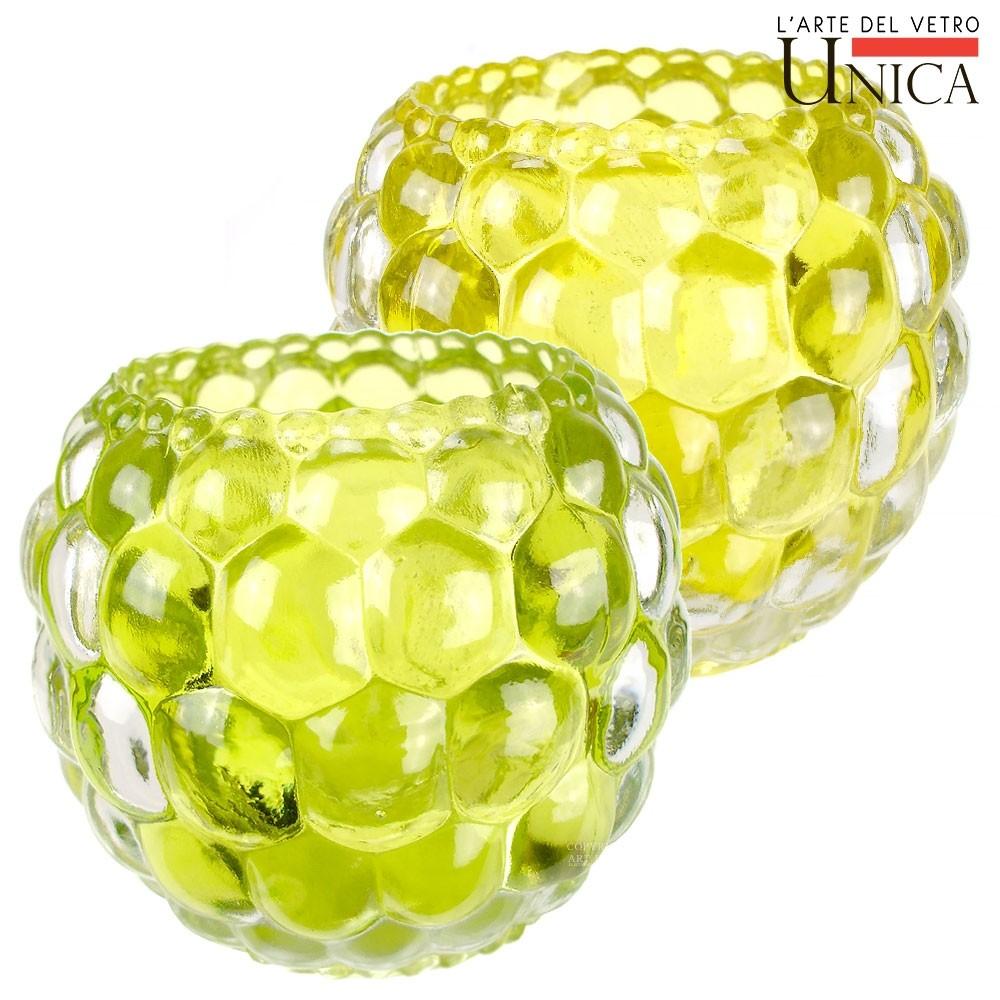 Sfeerlichten glas rond Art Unica