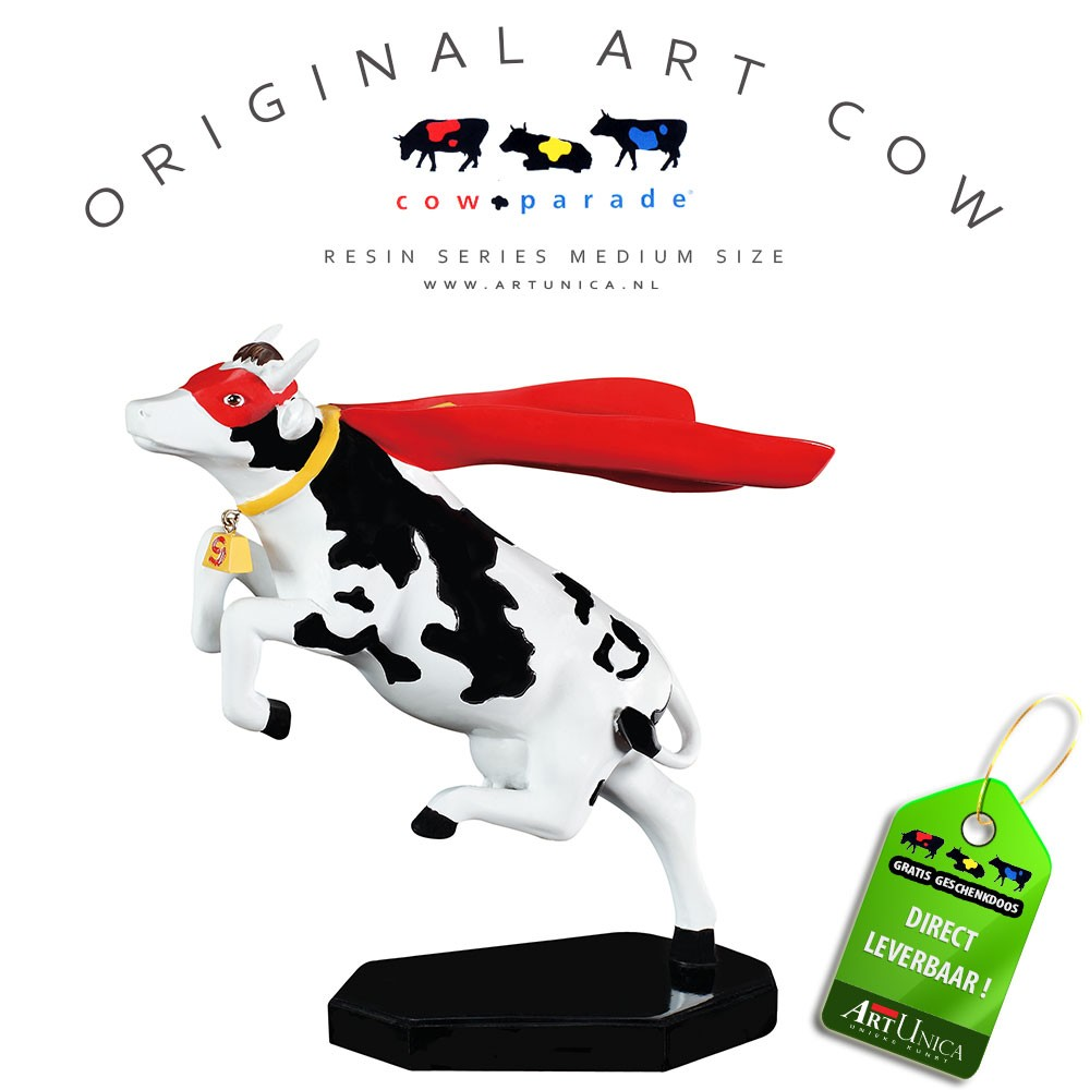 Super Cow koebeeldje Art Cow