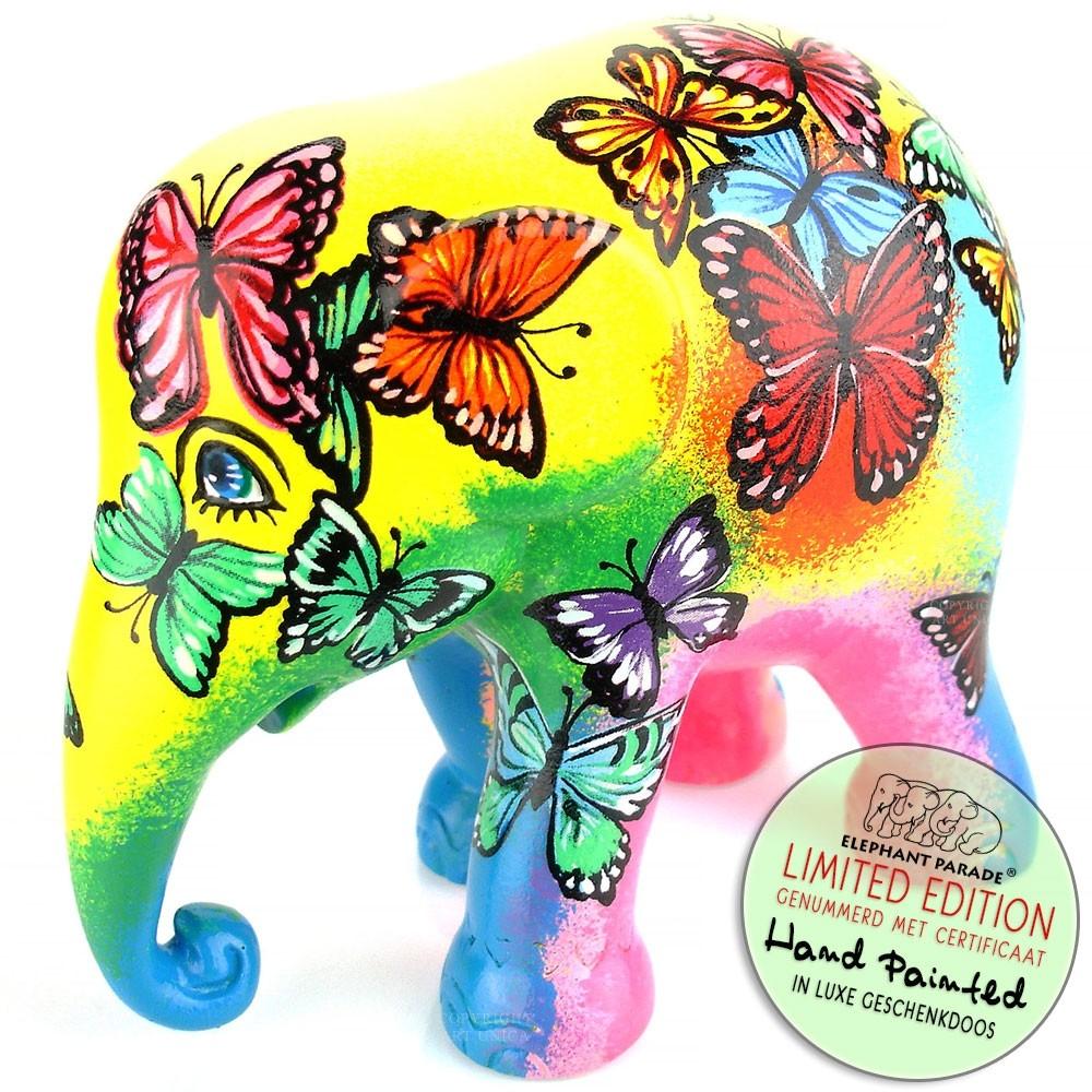 Beauty in Freedom Elephant Parade olifant beeldje