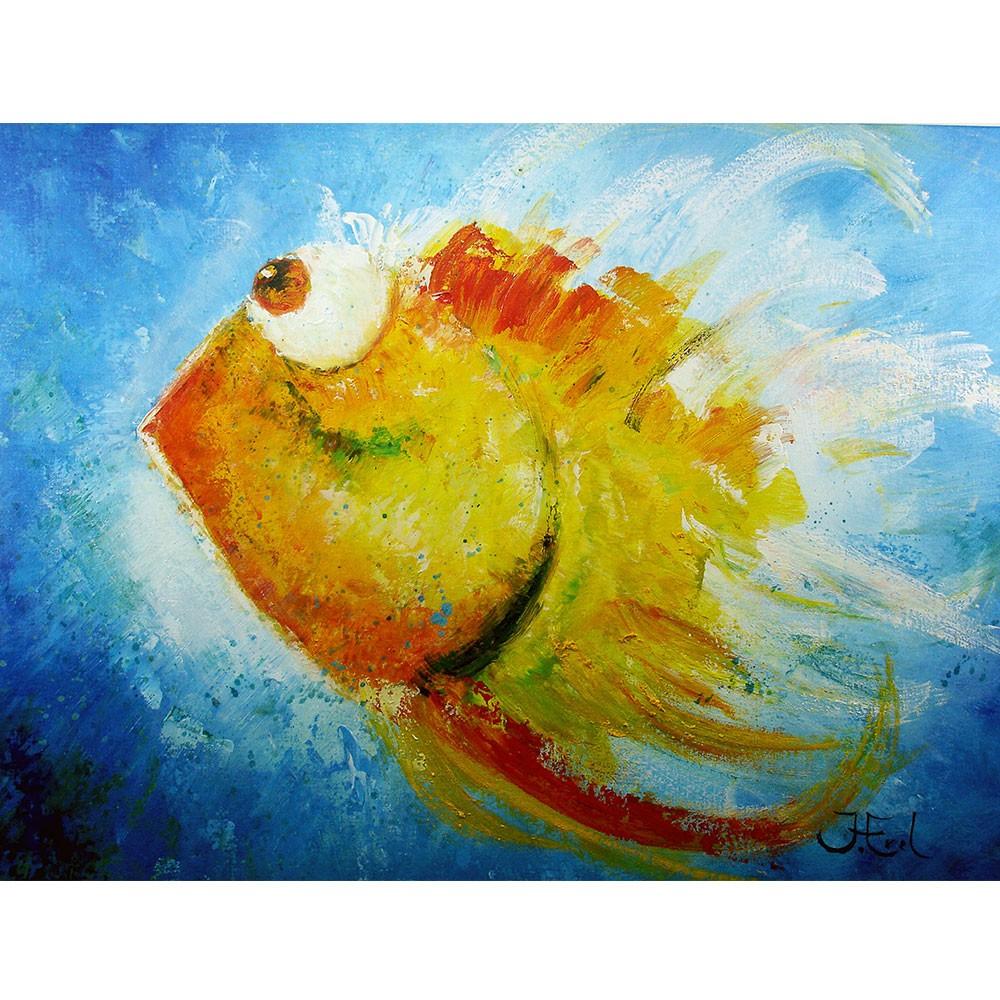 Schilderij Splashing John Frel Art Unica