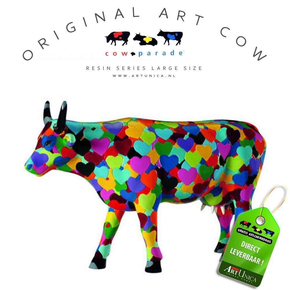 Koeienparade beeldje Art Unica