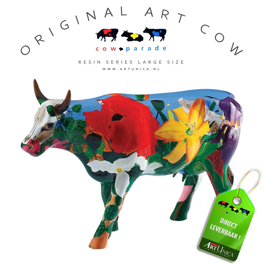 Koebeeldje groot Georgia O'Kowliffe Art Unica