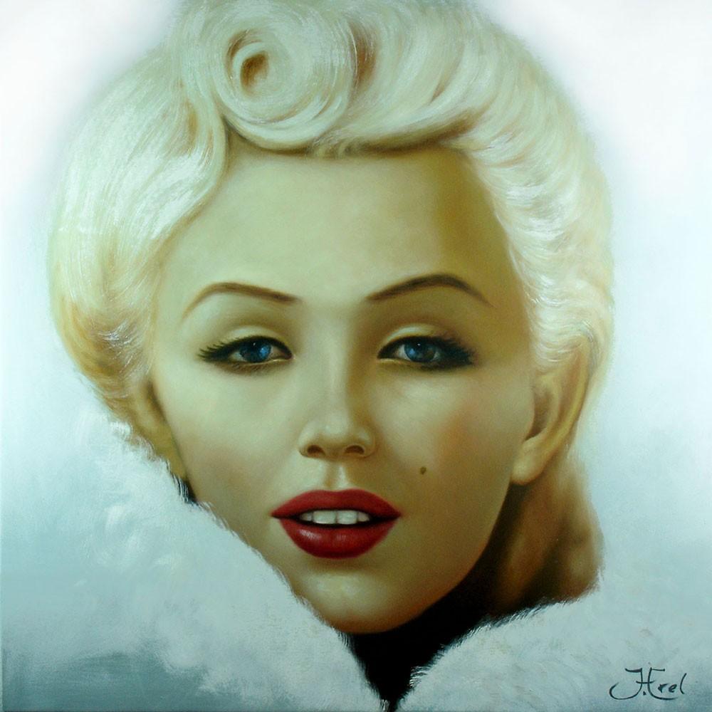 Schilderij Glamorous Marilyn Art Unica Galerie Bereikbare Kunst Amersfoort