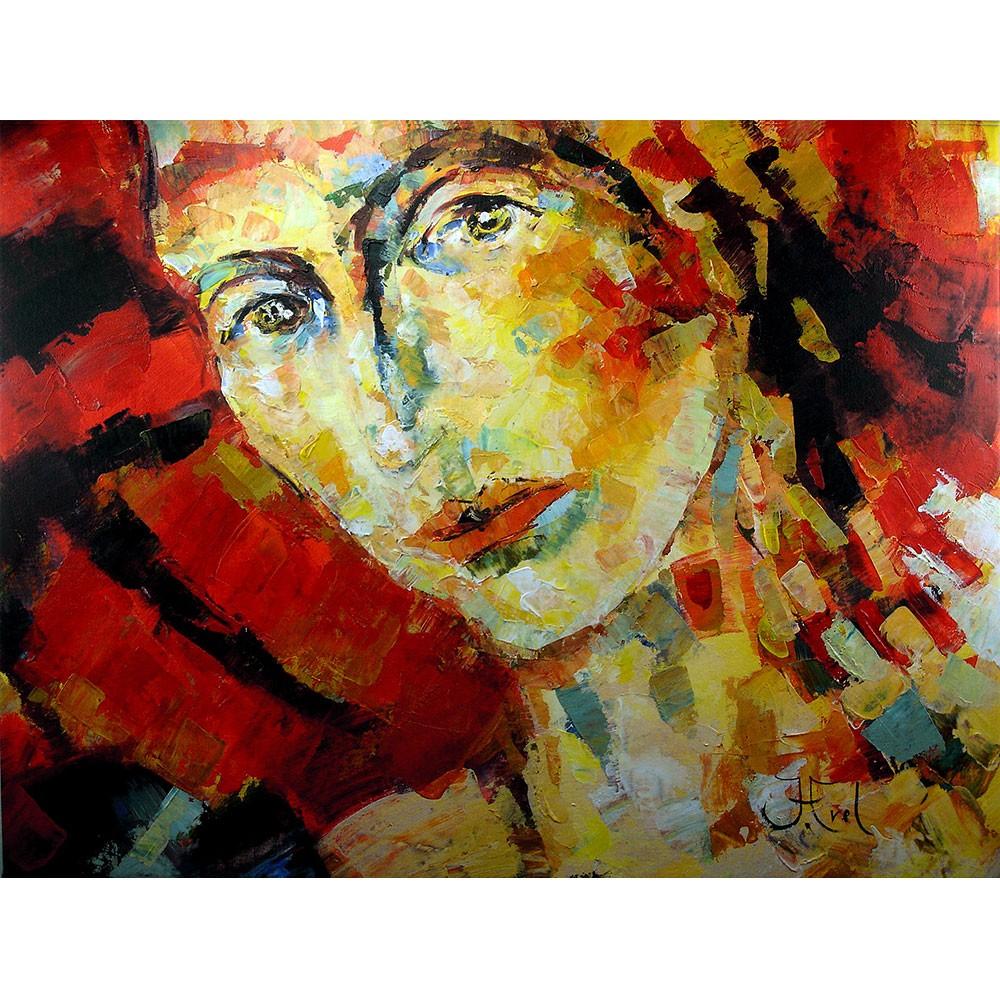 Schilderij John Frel