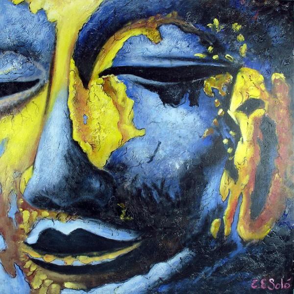 Schilderij Golden Silence Art Unica Amersfoort