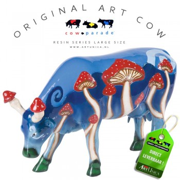 Art Cow Magic Mushy koebeeldje