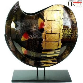 Glaskunst vaas Arezzo, Galerie en Kunstwinkel Art Unica Amersfoort