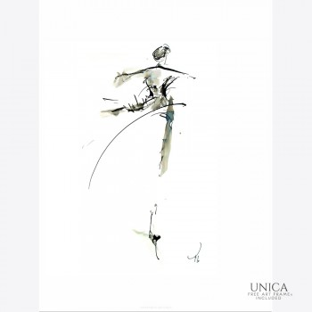 Schilderij dans Tineke Boselaar