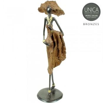 Korotimi Bronzen beeld Afrikaans