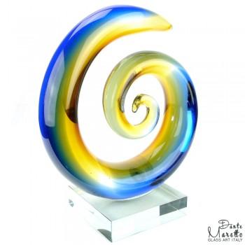 Glaskunst Abstract Spiral of Love Dante Maretto