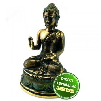 Bronzen beeldje Boeddha Art Unica galerie en Kunstwinkel Amersfoort
