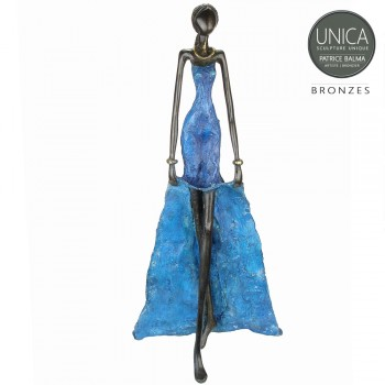 Celeste Bronzen beeld Afrikaanse vrouw