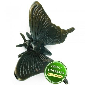 Bronzen beeldje Vlinder Art Unica Galerie en Kunstwinkel Amersfoort