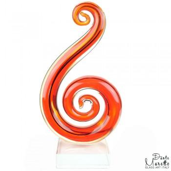 Glassculptuur Harmonie Art Unica