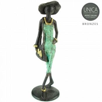 Massief bronzen beeldje Elegance Patrice Balma