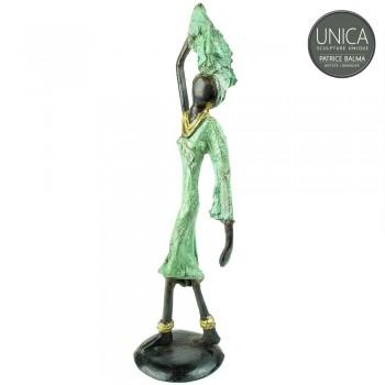 Flora bronzen beeldje Patrice Balma