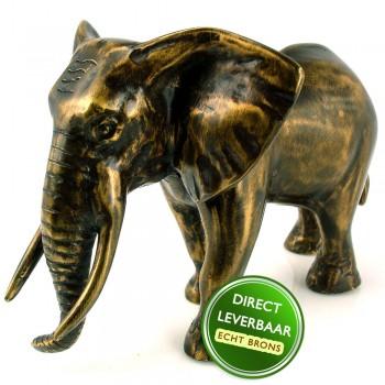Bronzen beeldje Olifantje Art Unica