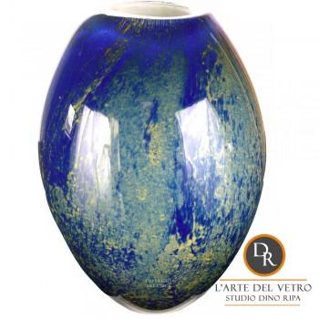 Glaskunst vaas Parma Dino Ripa