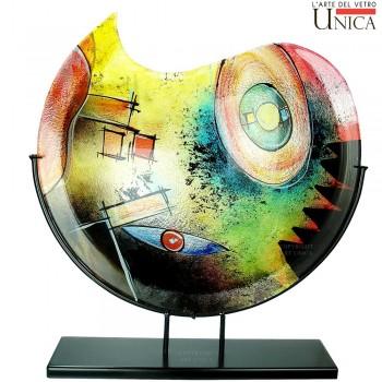 Vaas Arezzo glas Art Unica