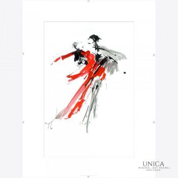 Danspaar schilderij