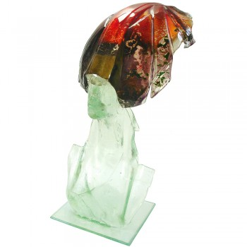 Elpis glassculptuur Art Unica Hans Janssen
