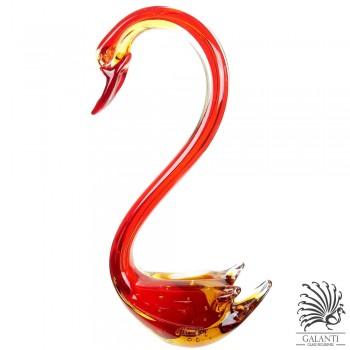 Zwaan beeld rood