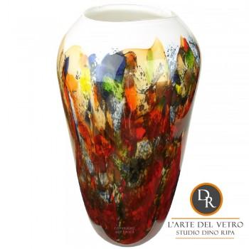 Murano glaskunst vaas Abbraccio