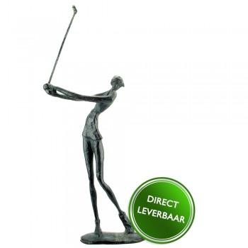 Bronzen Beeldje Golfster Swing Galerie en Kunstwinkel Art Unica Amersfoort
