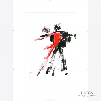 Schilderij Tango at Night Art Unica