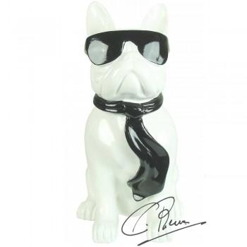 Soul Man Design beeld wit met zwart