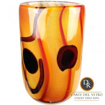 Catania glaskunst vaas Dino Ripa