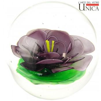 Glassculptuur Viola