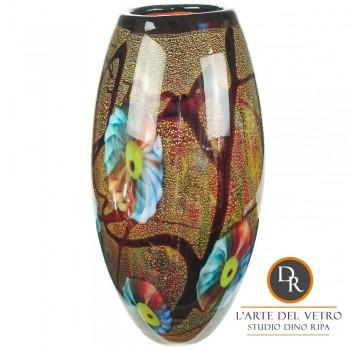 Foligno Vaas glaskunst Dino Ripa Unica
