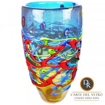 San Marino Glaskunst vaas Dino Ripa