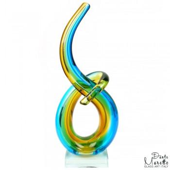 Glassculptuur Verbonden Dante Maretto