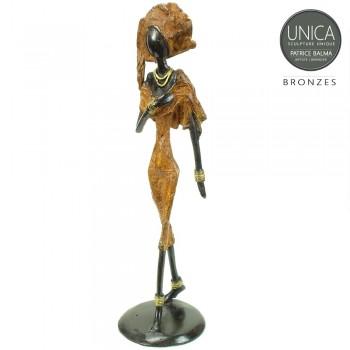Sirine West Afrikaans beeldje brons Patrice Balma