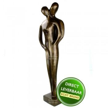 Bronzen beeld Genegenheid Art Unica