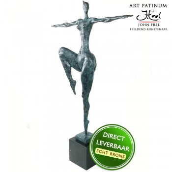 ronzen beeld Danseres Art Unica