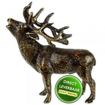 Bronzen beeldje Hert Art Unica