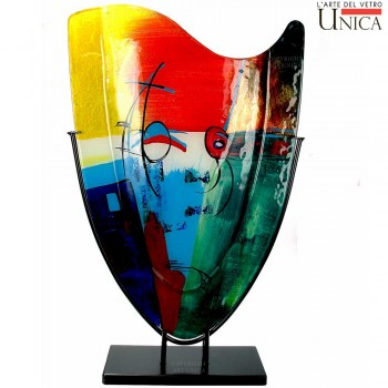 Siervaas Napoli glas Art Unica