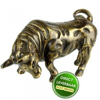 Bronzen beeld Stier Art Unica Brons Center Amersfoort