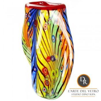 Murano Vaas glaskunst Dino Ripa
