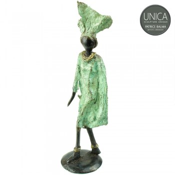 Afrikaans beeldje vrouw titel Fitou
